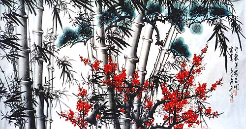 Chinese-painting-bamboo-B4073