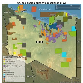 MAP LIBYA 2