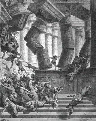 Samson-in-DagonTemple