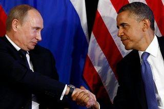 Putin obama shake